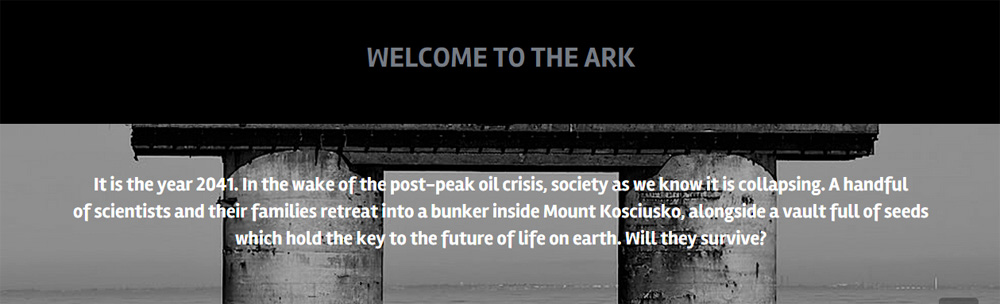 Readers can contribute to the world of The Ark via the app & website