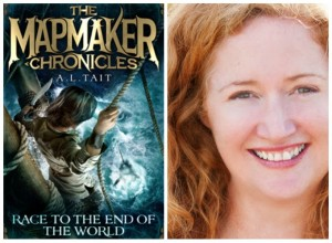 Q&A with Allison Tait: Author of The Mapmaker Chronicles Series for Children