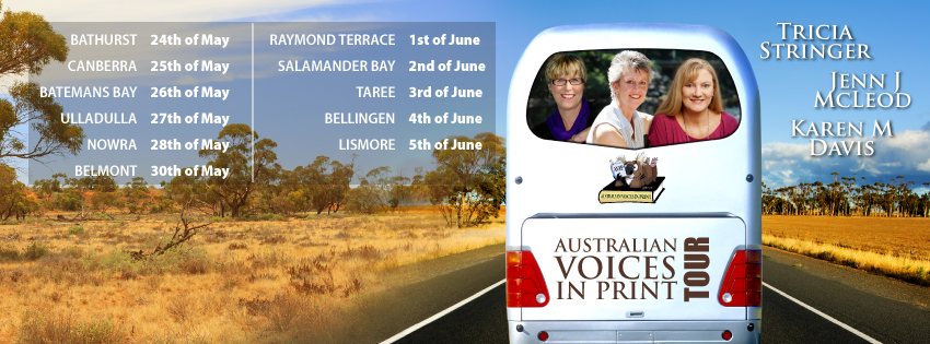 Win with the Australian Voices in Print Tour