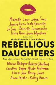 Rebellious daughters book cover