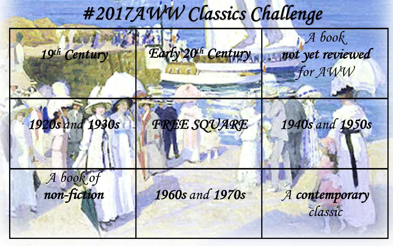 AWW Bingo Classics Bingo Card 2017