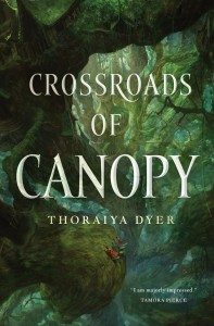 Interview with Thoraiya Dyer, author of Crossroads of Canopy