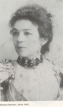 Photo of author Barbara Baynton as a young woman