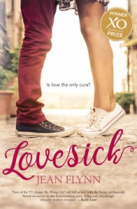 book cover for Lovesick by Jean Flynn