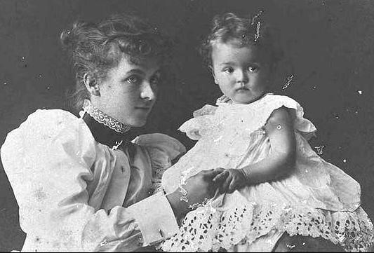 Ethel Turner and her daughter