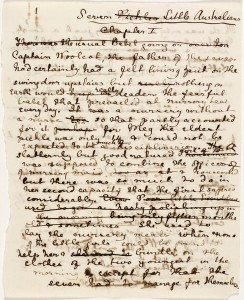Seven Little Australians Manuscript