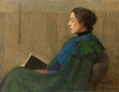 Woman Reading by Agnes Noyes Goodsir