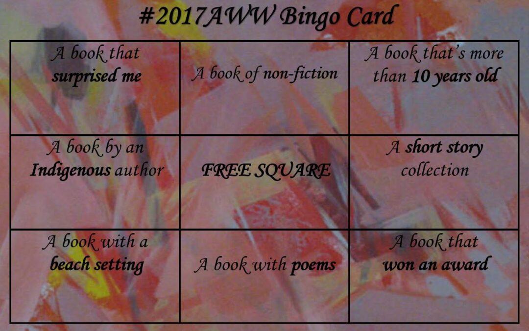 #AWW 2017 Bingo Challenge